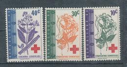 Au Profit De La Croix Rouge - République Du Congo (1960-64)
