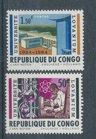 10 ° Anniversaire De L'université Lovanium - République Du Congo (1960-64)