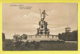 * Laken - Laeken (Brussel - Bruxelles) * (Dr. Trenkler, Brs 152) Fontaine De Neptune, Giov De Blogna, Monument - Laeken