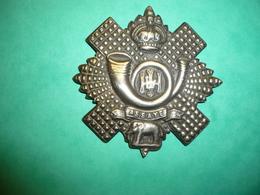Insigne écossais Highland Light Infantry 1914 - 1914-18