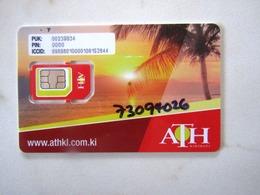SIM GSM  ATH KIRIBATI   TOP MINT - Kiribati