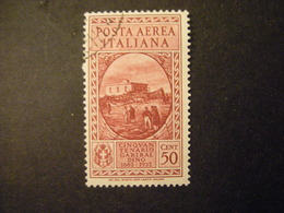 1932 - GARIBALDI , Posta Aerea , Cent. 50 Usato, TTB,  OCCASIONE - Usati