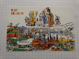 """Belgique 2012 - BL198 - """"visit Belgium"""" - Obl 1er Jour. - Blokken 1962-...."""