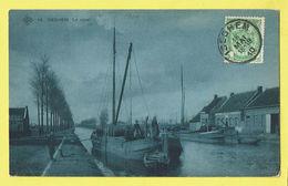 * Izegem - Iseghem * (SBP, Nr 15) Le Canal, Timbre, Bateau, Quai, Boat, Boot, Péniche, Belle Animation, TOP, Unique - Izegem