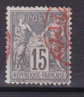 D334/ SAGE N° 77 CACHET ROUGE COTE 10€ - 1876-1898 Sage (Type II)