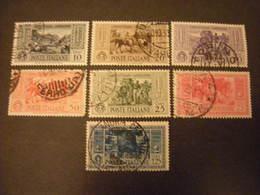 1932 - GARIBALDI ,lotto 7 Val. Usati, TTB. Occasione - 1900-44 Vittorio Emanuele III
