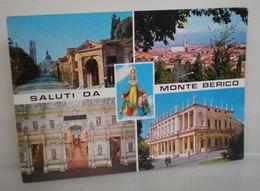 MONTE BERICO SANTUARIO VICENZA Vedute Saluti Da CARTOLINA 1996 - Luoghi Santi