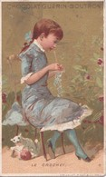 Vers 1900 Chocolat Guérin Boutron Par Vallet : Le Crochet (tricot, Couture) - Guérin-Boutron