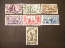 SVENDITA 1931 - SANT'ANTONIO , Serie Compl Usata, 7 Val. TTB,  OCCASIONE - 1900-44 Vittorio Emanuele III