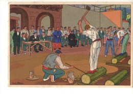 ILLUSTRATEUR JOSE ARRUE--postales Vascas N°5 Dibijos De JOSE ARRUE--voir 2 Scans - Illustratori & Fotografie