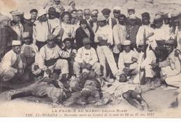 LA FRANCE  AU MAROC ,,,, EL- MERADA  ,MAROCAINS MORTS AU  COMBAT  DE LA NUIT DU 16 Au 17 MAI 1912 ,,TBE VOY1912 ,,,rare - Other Wars