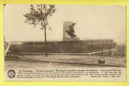 * Waterloo (Waals Brabant - Brabant Wallon) * (Desaix, Nr 10) French Memorial, The Eagle Wounded To Death By Gérome - Waterloo