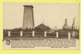 * Waterloo (Waals Brabant - Brabant Wallon) * (Desaix, Nr 7) Gerdon And Hanovreian's Monuments, Colonel Gordon - Waterloo