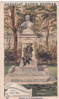 """Vers 1900 Chocolat Guérin Boutron :les Statues De Paris """" Théodore De Banville Poëte """" érigée Au Jardin Luxembourg - Guérin-Boutron"""
