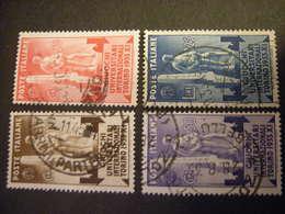 REGNO - 1933 - Giochi Universitari, Serie Completa, Usati, TTB,  OCCASIONE - Usati