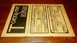 #20681 [Boek - Tijdschrift] Toerisme, Achtste Jaargang, Nummer 5, 1 Maart 1929 Mespelare Lanaken Exelmans - Tourisme