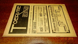 #20682 [Boek - Tijdschrift] Toerisme, Achtste Jaargang, Nummer 6, 15 Maart 1929 Berlage Veltem Ijzertoren Hakendover - Tourisme