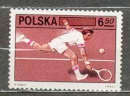 POLAND MNH ** 2572 TENNIS, Sport - Ungebraucht