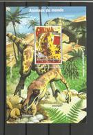 Guinée YT **BF 138 DINOSAURES  Cinéma Film Godzilla - Postzegels