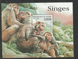 Guinée YT **BF 138D  SINGES - Apen