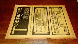 #20694 [Boek - Tijdschrift] Toerisme, Achtste Jaargang, Nummer 20, 15 October 1929 Tienen Leefdaal Burcht - Tourisme