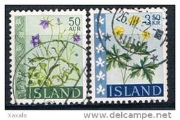 Iceland 1962 - Flowers Used - Gebraucht