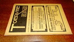 #20695 [Boek - Tijdschrift] Toerisme, Achtste Jaargang, Nummer 21, 1 November 1929 Cyriel Buysse Tienen Ijzertoren - Tourisme