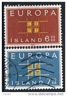 Iceland 1963 - Europa CEPT - 1944-... Republik