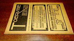 #20696 [Boek - Tijdschrift] Toerisme, Achtste Jaargang, Nummer 22, 15 November 1929 Tienen Vossem Marnix Gijsen Mechelen - Tourisme