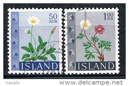 Iceland 1964 - Flowers - 1944-... Republik