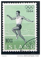 Iceland 1964 - Olympic Games - Tokyo, Japan - Gebraucht