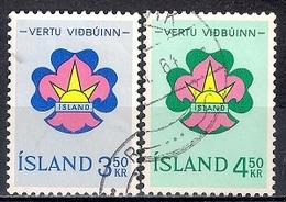 Iceland 1964 - Scouts - Gebraucht