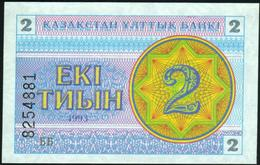 KAZAKHSTAN - 2 Tyin 1993 UNC P.2 - Kazakhstan