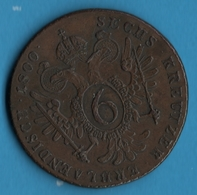AUSTRIA Habsbourg 6 Kreuzer  1800 S Franz II KM# 2128 - Austria