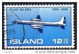 Iceland 1969 - Aviation - Gebraucht