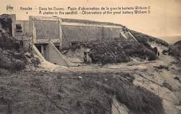 Knokke  Knocke  Observatiepost In De Duinen Bij Het Kanon Wilhem II      I 5385 - Veurne