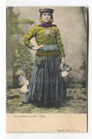 Lisboa / Lisbon - Uma Vendedeira De Leite - A Seller Of Milk - Early Postcard - Lisboa