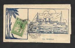 Inde Portugaise Portugal 1940 Vasco Da Gama Rapport Marché Noix De Coco Portuguese India Book Post Coconut Market Report - Inde Portugaise