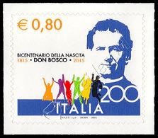 Italia / Italy 2015: Don Bosco (congiunta Vaticano / Joint Issue With Vatican City) ** - Joint Issues