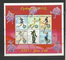 Guinée  Jeux Olympiques Sydney 2000 YT **1864 AG/AL Tennis - Zomer 2000: Sydney
