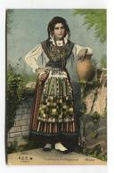 Costumes Portuguezes - Minho - Early Portugal Costumes Postcard - Portugal