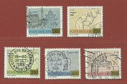 Vatican N° 715 - 718 - 720 - 722 - 724 - Vaticano (Ciudad Del)