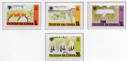 1979 - TRISTAN DA CUNHA - Yv.  Nr. 263/266 - NH - (UP131.6) - Tristan Da Cunha