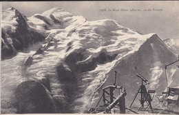 74----LE MONT BLANC ( 4810m ) Vu Du Brévent--voir 2 Scans - Chamonix-Mont-Blanc