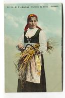Ceifeira Da Beira - Early Portugal Costumes Postcard, Woman, Harvest - Portugal