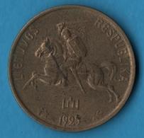LITUANIE LIETUVOS RESPUBLIKA 5 Centai 1925 PENKI 5 CENTAS  KM# 72 - Lituanie