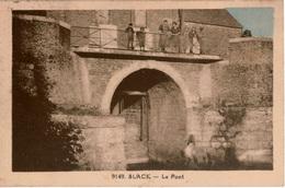 Cpsm 62 Rare: Le Village De SLACK (rattaché à La Commune D'AMBLETEUSE)  Le Pont , Animée , Colorisée - Autres Communes
