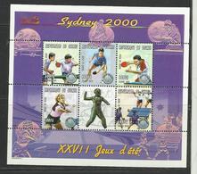 Guinée  Jeux Olympiques Sydney 2000 YT **1864 R/V PING PONG TENNIS DE TABLE - Zomer 2000: Sydney