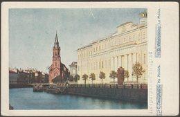 La Moika, Petrograd, C.1914 - Sergey Prokudin-Gorsky CPA - Russia