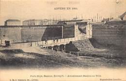 Antwerpen Anvers   En 1860   Porte Slijk,Bassins, Entrepôt Eactuellement Bassins Au Bois        I 5397 - Antwerpen